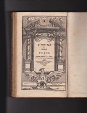 Sefer Tehilim The Book of Psalms: Joseph Samuel C.
