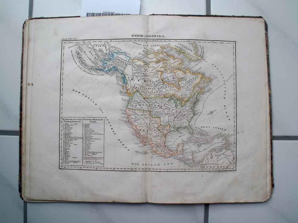 Atlas über alle Theile der Erde in: Wörl, J. E.