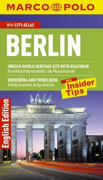 MARCO POLO Reiseführer Berlin Englisch - Berger, Christine