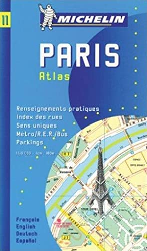 Michelin Karten, Bl.11 : Paris Atlas (MICHELIN MAPS: PARIS ATLAS (MAP NO 11))