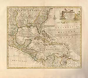 An Accurate Map of the West Indies. Drawn from the Best Authorities, Assisted by the Most Approve...