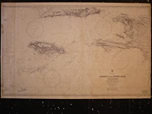 NAUTICAL CHART Jamaica and the Pedro Bank with Parts of Cuba and Haïti