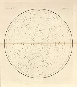 Twelve Planispheres: Forming a Guide to the Stars for Every Night in the Year. Celestial Atlas