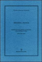 Moderni e Antichi. Quaderni del Centro di Studi sul Classicismo. N.II-III (2004-2005).