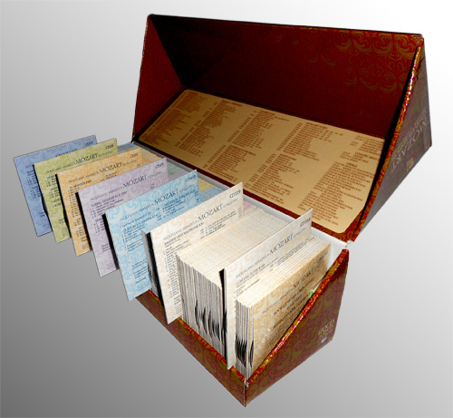 Complete edition. Gesamtwerk. L'oeuvre intégrale. Includes Diapason award-winnin Mozart,Wolfgang Amadeus. Good Genere: Classical. 170 CD+DVD +CD-ROM. CD. Lingue: Inglese, Tedesco, Francese. Brilliant Classics 170 CD+DVD +CD-ROM. AudioCD. CD. Lingue: Inglese, Te