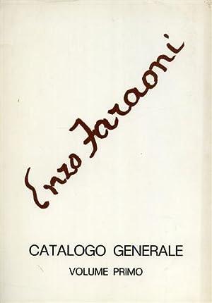 Enzo Faraoni. Catalogo generale. Vol.I:1935-1973.: --