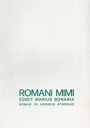 Romani mimi.: Bonaria,Mario (a cura
