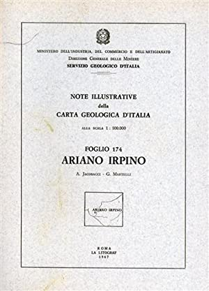 Note illustrative della Carta Geologica d'Italia F°174.