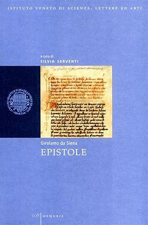 Epistole.: Girolamo da Siena.