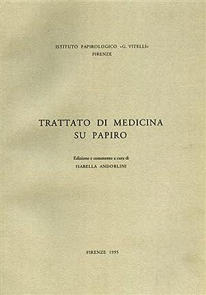 Trattato di medicina su papiro.