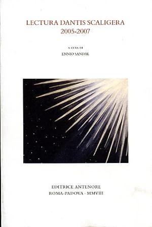 Lectura Dantis Scaligera 2005-2007.
