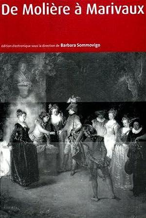 De Molière à Marivaux. Edition électronique. Con CD.: Sommovigo,Barbara.