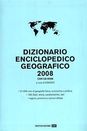 Dizionario Enciclopedico geografico 2008 con CD-Rom.: --