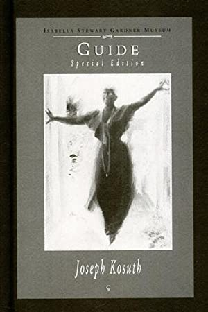 Guide to Contemporary Art. Special Edition Joseph Kosuth.: Biggiero,Simona (ed.).