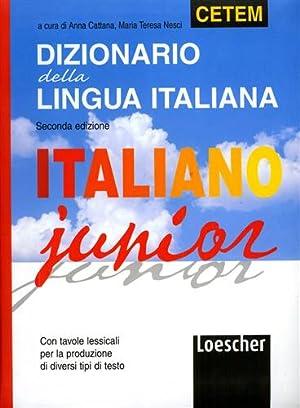 Dizionario della lingua italiana.: Cattana,Anna. Nesci,Maria Teresa,
