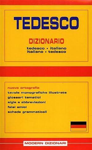 Tedesco Dizionario Tedesco-Italiano. Italiano-Tedesco.: --