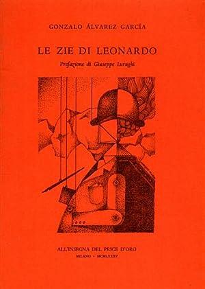 Le zie di Leonardo.: Gonzalo Alvarez García.
