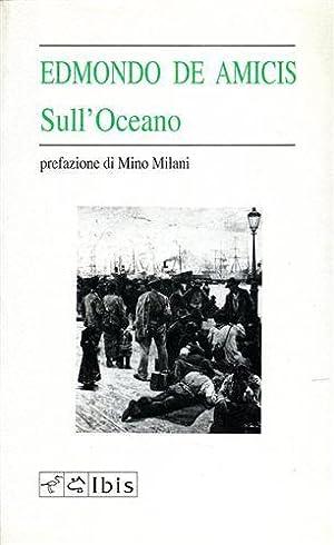 Sull'oceano.: De Amicis,Edmondo.