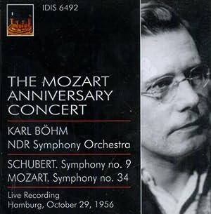 The Mozart Anniversary Concert. Mozart - Artista,: Mozart. Bohm. NDR