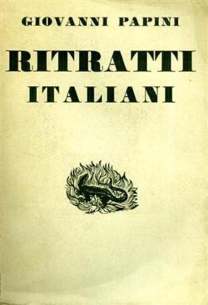 Ritratti italiani (1904-1931).: Papini,Giovanni.