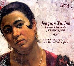 Integral de las Sonatas para Violin y: Turina,Joaquin (1882-1949).