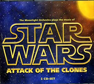 Star Wars. Attack of the Clones. Cd: The Moonlight Orchestra.