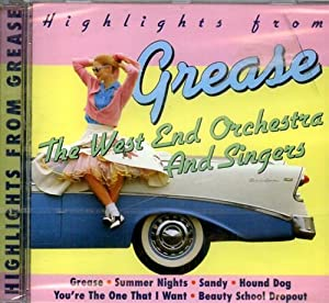 Highlights from Grease. Grease Summer Nights Sandy: The West End
