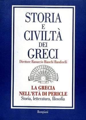 La Grecia nell'età di Pericle. Storia, letteratura, filosofia.: Nenci,G. Cozzoli,U. ...