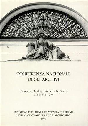 Conferenza Nazionale degli Archivi.: --