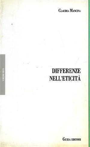 Differenze nell'eticità. Amore famiglia società civile in Hegel.: Mencina,...