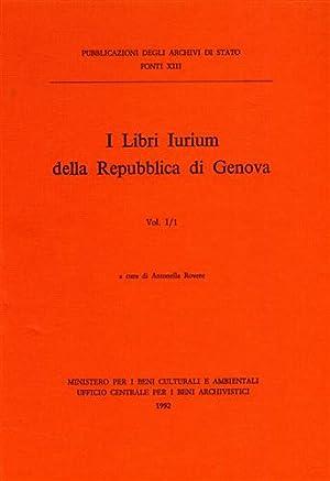 I Libri Iurium della Repubblica di Genova.