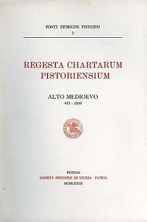 Regesta Chartarum Pistoriensium. Alto Medioevo (493-1000). 114 Regesti. Indice dei nomi p: --