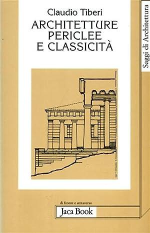 Architetture periclee e classicità.: Tiberi,Claudio.