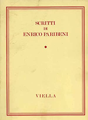 Scritti di Enrico Paribeni.: Paribeni,Enrico.