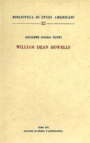 William Dean Howells.: Gadda Conti,Giuseppe.