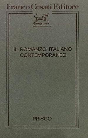 Il romanzo italiano contemporaneo.: Prisco,Michele.