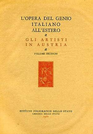 Gli Artisti italiani in Austria. Vol.II: Il: Morpurgo,Enrico.