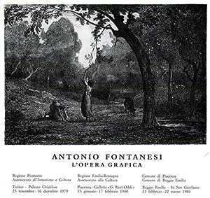 Antonio Fontanesi. L'Opera grafica.: Catalogo della Mostra: