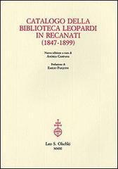 Catalogo della Biblioteca Leopardi in Recanati (1847-1899).: --