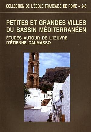 Petites et grandes villes du bassin méditerranéen : études autour de l'...