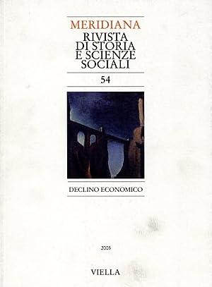 Meridiana. Vol.54: Declino economico. Dall'indice: Giovanni Paoloni,: --