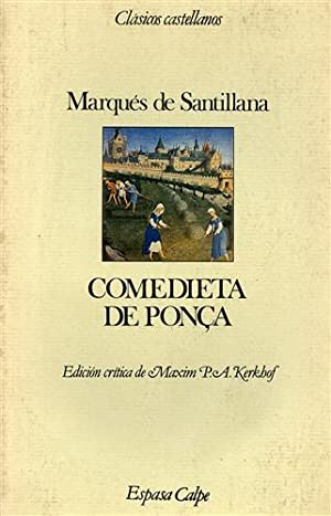 Comedieta de Ponca.: De Santillana,Marqués.