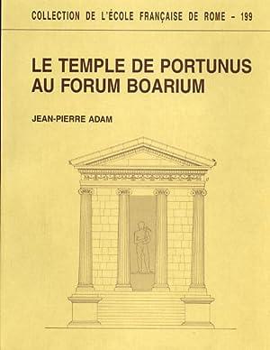Le temple de Portunus au Forum Boarium.: Adam,Jean Pierre.