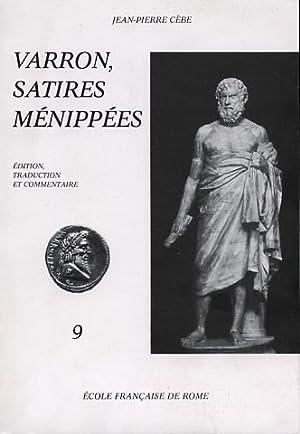 Satires Ménippées. 9.Nescis quid vesper serus uehat-Papia papae.: Varron.