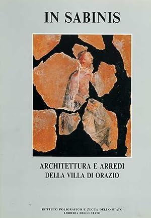 In Sabinis. Architettura e arredi della Villa di Orazio.: Catalogo della Mostra: