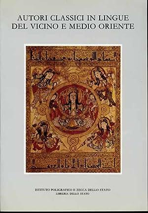 Autori classici in lingue del Vicino e Medio Oriente.: Atti del 3°,4°,5° Seminario: