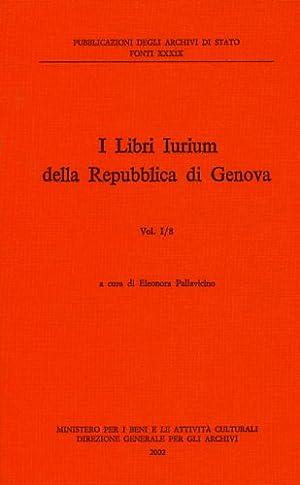 I Libri Iurium della Repubblica di Genova. I/8.: --