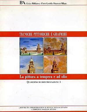 La pittura a tempera e ad olio.: Petrantoni,Michele (a cura di).
