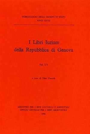 I Libri Iurium della Repubblica di Genova. I/3.: --