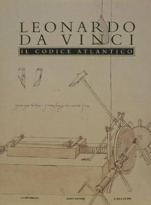 Il Codice Atlantico della Biblioteca Ambrosiana di: Leonardo da Vinci.